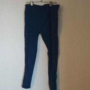 Victoria Secret Dark Blue Leggings Large